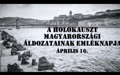Iskolánk megemlékezik a holokauszt magyarországi áldozatairól